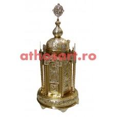 Chivot aurit si argintat (38x38x75 cm) cod K101-61D