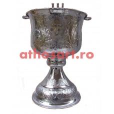 Cristelnita argintata (62x96 cm) (90 litri) cod K155-15