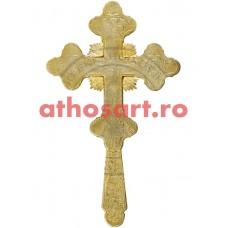 Cruce Binecuvantare aurita cod 56-385