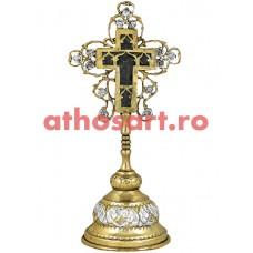 Cruce Binecuvantare aurita si argintata (10x20 cm) cod 57-401