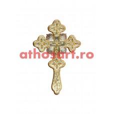 Cruce Binecuvantare aurita si argintata (18.5x30 cm) cod K319