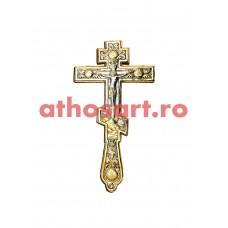 Cruce Binecuvantare aurita si argintata (15.5x30 cm) cod K320