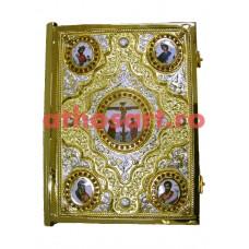 Evanghelie aurita si argintata (37x28 cm) cod K102-94D