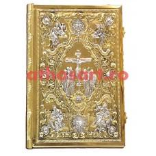 Evanghelie aurita si argintata (39x31 cm) cod K102-05D