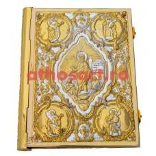 Evanghelie aurita si argintata (38x30 cm) cod K102-06