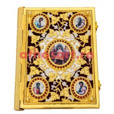 Evanghelie aurita si argintata (35x27 cm) cod K102-09