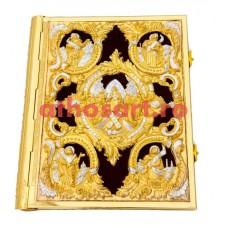 Evanghelie aurita si argintata (38x31 cm) cod K102-18D