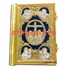 Evanghelie aurita si argintata (25x20 cm) cod K102-25