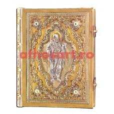 Apostol aurit si argintat (25x19 cm) cod K102-45