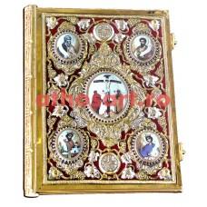 Evanghelie aurita si argintata cod K102-69