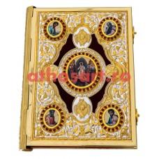 Evanghelie aurita si argintata (27x35 cm) cod K102-91D
