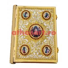 Evanghelie aurita si argintata (35x27 cm) cod K102-96D