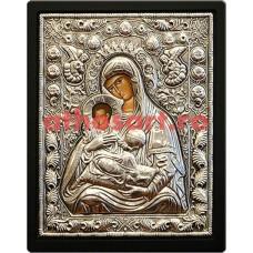 Icoana argint Maica Domnului cod 103