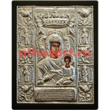 Icoana argint Maica Domnului cod 104