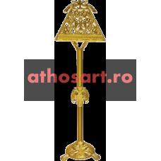 Iconostas aluminiu aurit (41x36x143 cm) cod A15-80