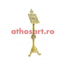 Iconostas aluminiu aurit (43x140 cm)  cod 96-675