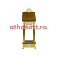 Iconostas aluminiu aurit (49x49x148 cm) cod 97-680