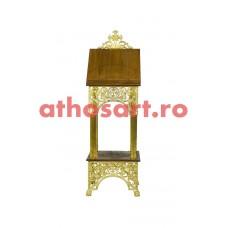 Iconostas aluminiu aurit (49x49x148 cm) cod 97-681