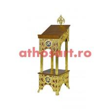 Iconostas aluminiu aurit (45x54x149 cm) cod 97-682