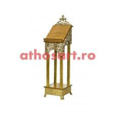 Iconostas aluminiu aurit (39x39x142 cm) cod 97-684