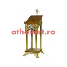 Iconostas aluminiu aurit (51x61x144 cm) cod 97-685