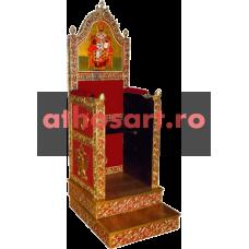 Scaun Arhieresc (84x100x220 cm) cod A20-99