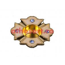 Steluta (capsula) pentru Sfinte Moaste (2.5x2.5 cm) cod SR6
