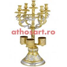 Litier aurit si argintat (21x33 cm) cod 37-211