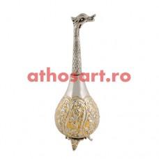 Stropitoare Aghiazma aurita si argintata (23 cm) cod P61-367GN
