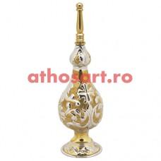 Stropitoare Aghiazma aurita si argintata (27 cm) cod P61-4091GN
